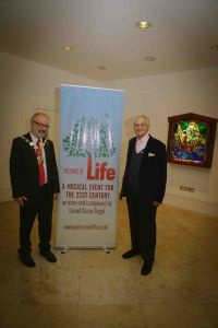 Lionel Oscar Segal & Mayor Of Islington Foyer