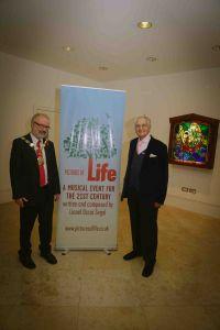 Lionel Oscar Segal & Mayor Of Islington Foyer
