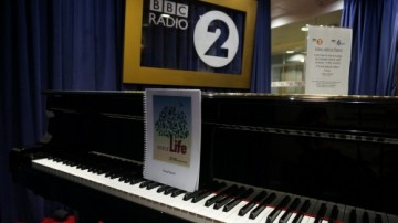 Pictures of Life score on Elton John's piano at Radio 2